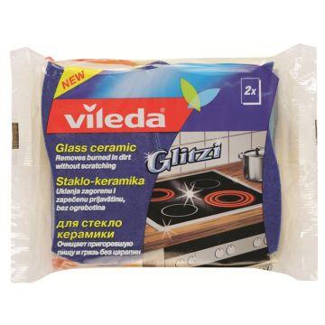 Губка для стеклокерамики ViledaГубка для стеклокерамики Vileda 2 шт<br>