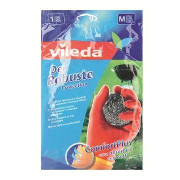 Перчатки для уборки Vileda особо прочные размер M 09518