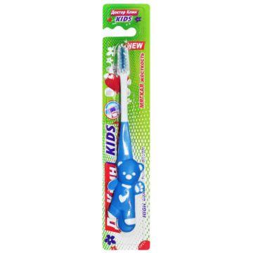 Зубная щетка для детей Dr. CleanЗубная щетка для детей Dr. Clean Kids мягкая 1 шт<br>