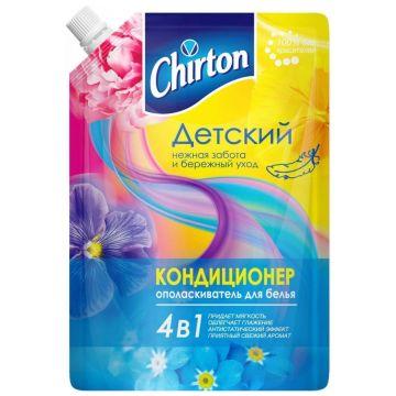 Кондиционер для ополаскивания белья ChirtonКондиционер для ополаскивания белья Chirton 4 в 1 Детский 750 мл (мягкая упаковка)<br>