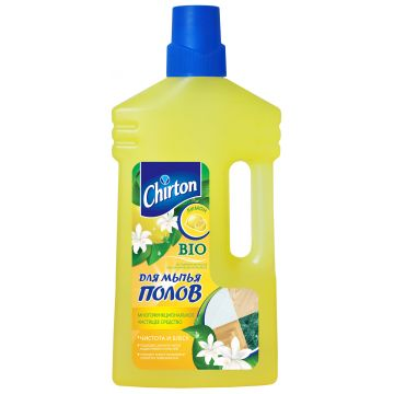 Чистящее средство для мытья пола ChirtonЧистящее средство для мытья пола Chirton Многофункциональное Лимон 1000 мл<br>