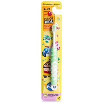Зубная щетка детская LGЗубная щетка детская LG Robocar Poli серия Perioe мягкая от 4 до 24 месяцев<br>