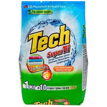 Стиральный порошок LGСтиральный порошок LG Tech Super Ti для белых и цветных вещей 1 кг<br>