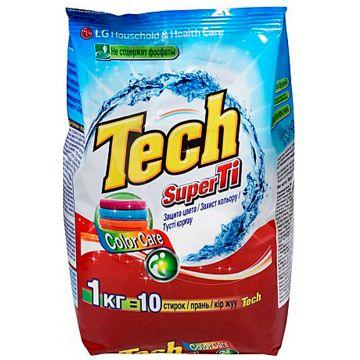 Стиральный порошок LGСтиральный порошок LG Tech Super Ti для цветных вещей с функцией защиты цвета 1 кг<br>