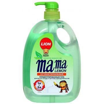 Средство для мытья посуды Mama LemonСредство для мытья посуды Mama Lemon Зеленый чай 1 л<br>