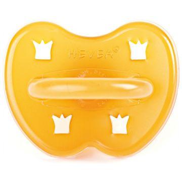 Пустышка HeveaПустышка Hevea из натурального каучука (латекса) Crown 3+ мес<br>