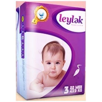 Подгузники LeylеkПодгузники Leylеk размер M (4-9 кг) 22 шт, в упаковке 22 шт., размер M<br><br>Штук в упаковке: 22<br>Размер: M