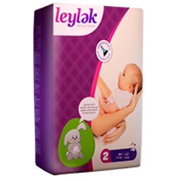 Подгузники LeylеkПодгузники Leylеk размер S (3-6 кг) 68 шт, в упаковке 68 шт., размер S<br><br>Штук в упаковке: 68<br>Размер: S