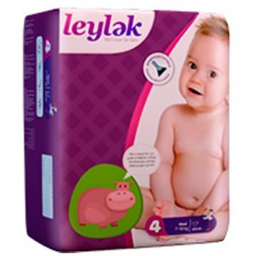 Подгузники LeylеkПодгузники Leylеk размер L (7-18 кг) 17 шт, в упаковке 17 шт., размер L<br><br>Штук в упаковке: 17<br>Размер: L