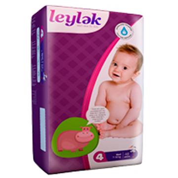 Подгузники LeylеkПодгузники Leylеk размер L (7-18 кг) 48 шт, в упаковке 48 шт., размер L<br><br>Штук в упаковке: 48<br>Размер: L