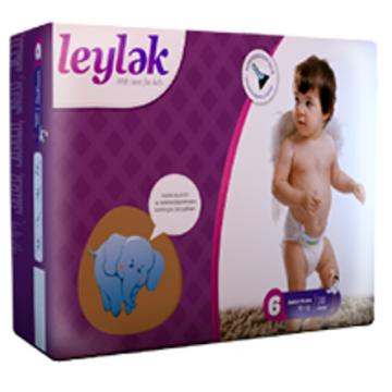 Подгузники LeylеkПодгузники Leylеk размер XXL (16+ кг) 38 шт, в упаковке 38 шт., размер XXL<br><br>Штук в упаковке: 38<br>Размер: XXL