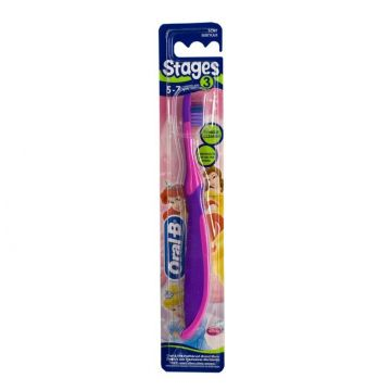 Зубная щетка детская Oral_b Stages 3 мягкая 1 шт