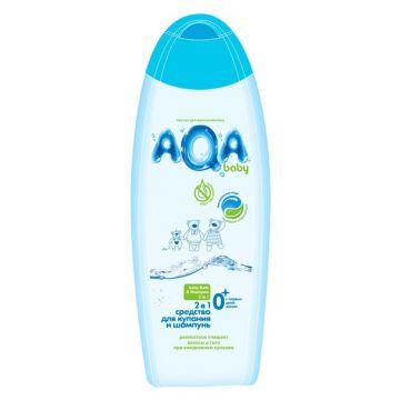 Средство для купания и шампунь Aqa BabyСредство для купания и шампунь Aqa Baby 2 в 1 (250 мл), объем, 250л.<br><br>Объем, л.: 250