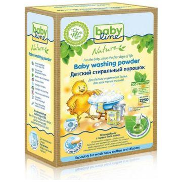 Стиральный порошок BabylineСтиральный порошок Babyline Nature детский концентрат 2,25 кг<br>