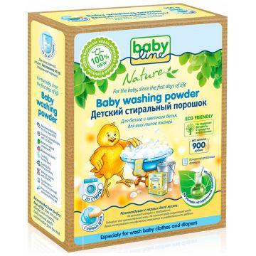 Стиральный порошок BabylineСтиральный порошок Babyline Nature детский концентрат 900 гр<br>