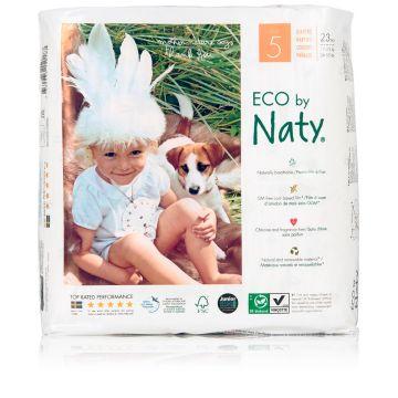 Подгузники NatyПодгузники Naty размер 5 (11-25 кг) 23 шт, в упаковке 23 шт., размер XL (BIG)<br><br>Штук в упаковке: 23<br>Размер: XL (BIG)