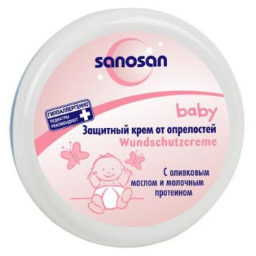 Защитный крем от опрелостей SanosanЗащитный крем от опрелостей Sanosan 150 мл, объем, 150л.<br><br>Объем, л.: 150