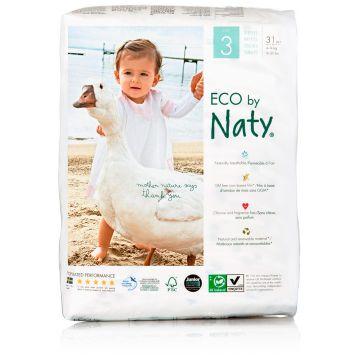 Подгузники NatyПодгузники Naty размер 3 (4-9 кг) 31 шт, в упаковке 31 шт., размер M<br><br>Штук в упаковке: 31<br>Размер: M