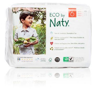 Подгузники NatyПодгузники Naty размер 6 (16+ кг) 18 шт, в упаковке 18 шт., размер XXL<br><br>Штук в упаковке: 18<br>Размер: XXL