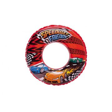 Круг надувной BestwayКруг надувной Bestway Speedway Friends 51см 3-6лет 36105B, возраст от 3 лет<br><br>Возраст: от 3 лет