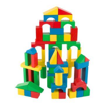 Игрушка развивающая Melissa and Doug Набор цветных блоков (100 дет.) 481M