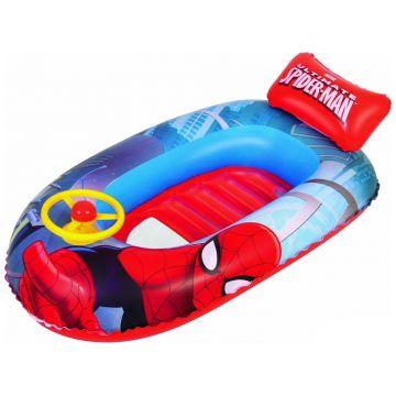 Лодка детская надувная Bestway Спайдермен 3-6 лет 112х70см 98009B