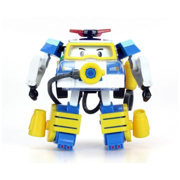 Игрушка Robocar Poli Поли трансформер 10 см + костюм водолаза 83310