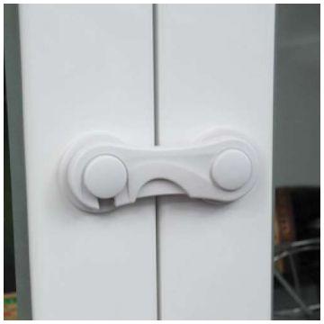 Замок для выдвижных шкафчиков LubbyЗамок для выдвижных шкафчиков Lubby 13576<br>