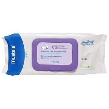 Салфетки MustelaСалфетки Mustela Bebe влажные для тела 70 шт, в упаковке 70 шт.<br><br>Штук в упаковке: 70