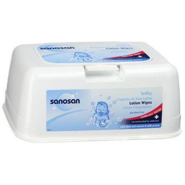 Салфетки влажные SanosanСалфетки влажные Sanosan Комфорт в контейнере 72 шт, в упаковке 72 шт.<br><br>Штук в упаковке: 72