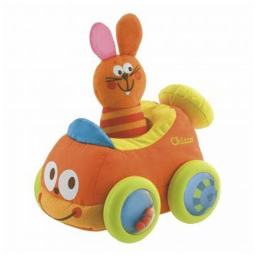 Игрушка развивающая ChiccoИгрушка развивающая Chicco Каталка Кролик в машинке, возраст с 6 мес<br><br>Возраст: с 6 мес