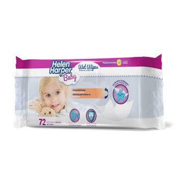 Салфетки детские влажные Helen HarperСалфетки детские влажные Helen Harper 72 шт, в упаковке 72 шт.<br><br>Штук в упаковке: 72