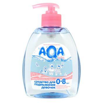 Гель для подмывания девочек Aqa Baby