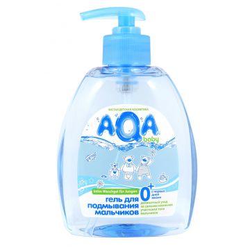 Гель для подмывания мальчиков Aqa BabyГель для подмывания мальчиков Aqa Baby 300 мл<br>