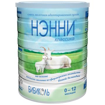 Молочная смесь НэнниМолочная смесь Нэнни Классика на основе козьего молока с рождения 800 г, возраст 1 ступень (0-3 мес). Проконсультируйтесь со специалистом. Для детей 0-12 мес.<br><br>Возраст: 1 ступень (0-3 мес)