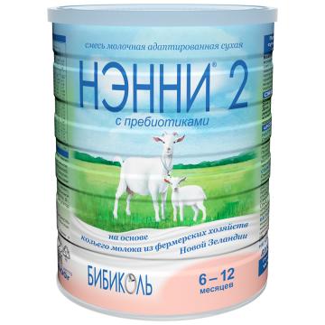 Молочная смесь НэнниМолочная смесь Нэнни 2 с пребиотиками на основе козьего молока с 6 мес 800 г, возраст 3 ступень (6-12 мес). Проконсультируйтесь со специалистом. Для детей с 6 мес.<br><br>Возраст: 3 ступень (6-12 мес)