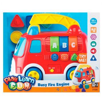 Игрушка KeenwayИгрушка Keenway Пожарная машина со звуковыми эффектами<br>