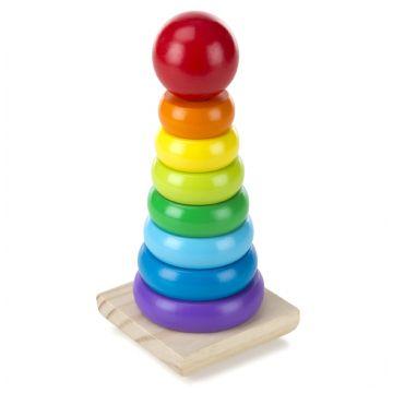 Игрушка Melissa and Doug Классические игрушки Радужная пирамидка 576