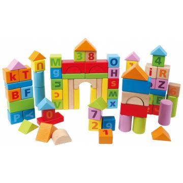 Игрушка деревянная HapeИгрушка деревянная Hape Конструктор 80 деталей Е8022<br>