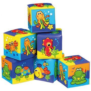 Игрушка для игр в ванной PlayGro Кубики 0181170
