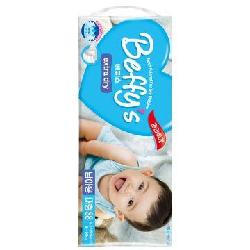 Подгузники BeffysПодгузники Beffys extra dry для мальчиков L (9-14 кг) 38 шт, в упаковке 38 шт., размер L<br><br>Штук в упаковке: 38<br>Размер: L