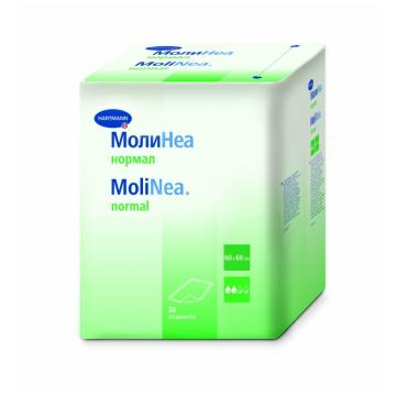 Пеленки детские Hartmann MolineaПеленки детские Hartmann Molinea Plus впитывающие 60х60 30 шт, в упаковке 10 шт.<br><br>Штук в упаковке: 10