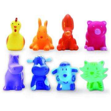 8 разноцветных животных Djeco 091158 разноцветных животных Djeco 09115, возраст от 1 года<br><br>Возраст: от 1 года