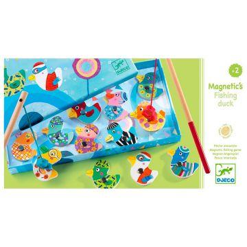 Игра детская магнитная DjecoИгра детская магнитная Djeco Утки, возраст от 2 лет<br><br>Возраст: от 2 лет