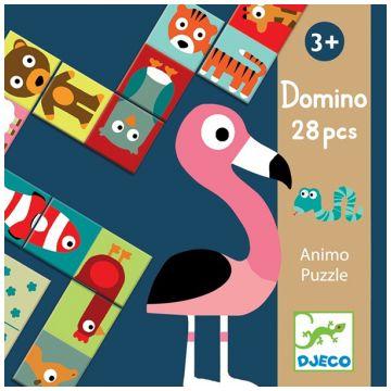 Настольная игра детская DjecoНастольная игра детская Djeco Домино Анимо, возраст от 3 лет<br><br>Возраст: от 3 лет