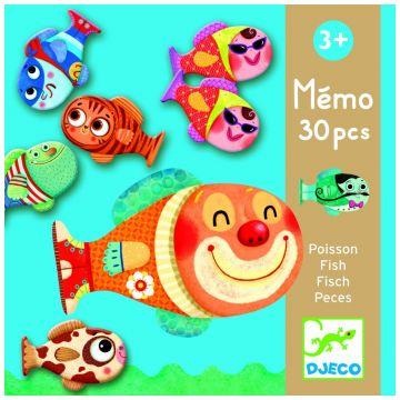 Игра– мемо DjecoИгра– мемо Djeco «Рыбки», возраст от 3 лет<br><br>Возраст: от 3 лет