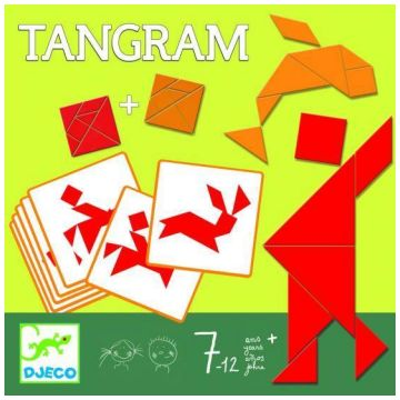 Игра DjecoИгра Djeco Танграм, возраст от 7 лет<br><br>Возраст: от 7 лет