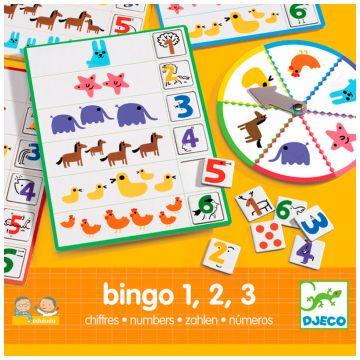 Игра DjecoИгра Djeco Eduludo Числа Бинго, возраст от 3 лет<br><br>Возраст: от 3 лет