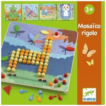 Игра DjecoИгра Djeco Мозаика Риголо, возраст от 3 лет<br><br>Возраст: от 3 лет