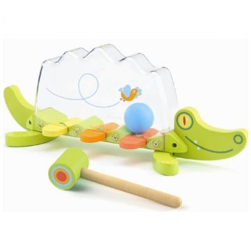 Игрушка DjecoИгрушка Djeco Крокодил, возраст от 2 лет<br><br>Возраст: от 2 лет